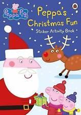 Peppa Pig: Peppa's Christmas Fun Sticker Activity Book by Penguin Books Ltd (Paperback, 2015)