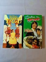 Babes in Toyland VHS Lot Walt Disney's Babes In Toyland & Orion Babes In Toyland