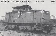 AK UNREAD Morop Congress Sweden litt. V4 142 (G2502)