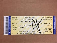 James Gandolfini Signed Autographed Gods Of Carnage Ticket PSA BAS Guaranteed