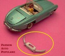 TEKNO 924 : MERCEDES BENZ 300 SL pare choc arrière / one rearbumper white métal