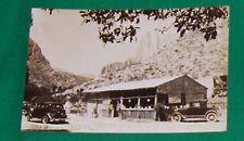 1941 RPPC PHOTO POSTCARD OLD MEXICO MEXICAN CAR KODAK AUTO TARJITO MONTERREY VTG