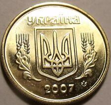 Gem Uncirculated Ukraine 2007 10 Kopiyok~Minted In Kyiv~Outstanding~Free Ship