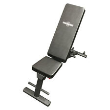 Muscle Motion Folding Adjustable Flat Incline Decline Bench