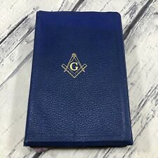 Holy Bible Masonic Edition Red Letter Illustrated King James Version Readers Aid