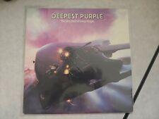 Deepest Purple The Very Best of Deep Purple Vinyl Record LP 1980
