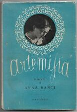Banti Anna ARTEMISIA Sansoni 1947 Prima edizione Incisioni di Mino Maccari