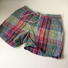 Para Hombres Polo By Ralph Lauren Pantalones Cortos de Natación-Grande-W34-Madras cheque