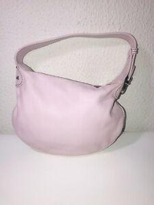 Marc Jacobs Leather Mini Hobo Handbag Made In Italy