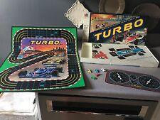 Vintage 1982 Milton Bradley TURBO Board Game Based on Arcade SEGA Game COMPLETE