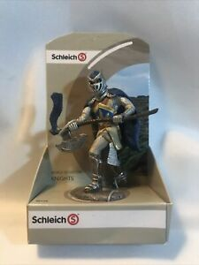 Schleich World of History Knights 70112 Blue Griffin Knight with Axe