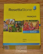 Rosetta Stone French Level 1 Version 4 New in Sealed Box