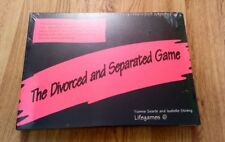 THE DIVORCED AND SEPARATED GAME NEW SEALED YVONNE SEARLE ISABELLE STRENG
