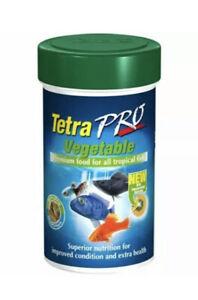 2x Tetra Pro Algae 18g Tropical Herbivore Fish Crisps