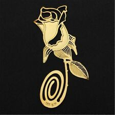 Wedding Party Reading Metal Label Rose Bookmark Clip Creative Book-lover