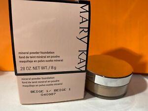 mary kay mineral powder foundation beige 1