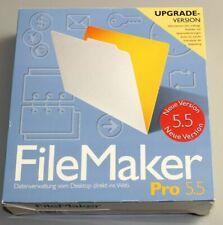 FileMaker Pro 5.5 - Deutsch - für Windows und Mac OS -Update mit Vorversion