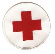 Aufnäher Abzeichen ROTES KREUZ / DRK Patch Sammler Sanitäter BW Erste Hilfe NEU