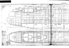 Avro Lancaster bomber WW2 Blueprint Plans period drawings RARE 1940's Archive