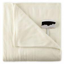 Biddeford Luxury Heated Plush Blanket Msrp $ 330.00