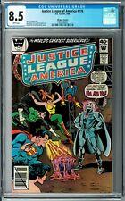 Justice League of America #176 CGC 8.5 (Mar 1980, DC) Hawkgirl app. Whitman var.
