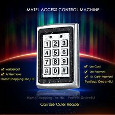 Waterproof Metal RFID Access Control Keypad With Backlight For Access Controller