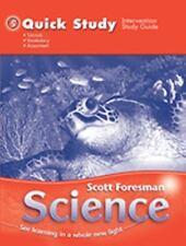 SCOTT FORESMAN SCIENCE 2006 QUICK STUDY GRADE 5, Scott Foresman, New Book