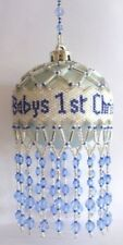 X495 Bead Pattern Only Beaded Baby's First Christmas Ornament Cover