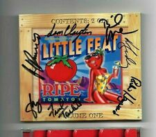LITTLE FEAT - Ripe Tomatos - 2 CD Disc Set - Rare SIGNED by 7 - Hot Raw Tomatoes
