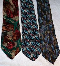 Lot of 3 Jerry Garcia Neckties tie