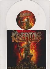 "KREATOR civilization collapse 7"" ltd. one time press white  Vinyl"