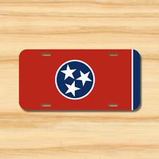 Tennessee State Flag License Plate Vehicle Auto Tag Nashville TN FREE SHIPPING