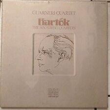 GUARNERI QUARTET Bartok~6 String Quartets 3 LP box SEALED~Soyer,Dalley,Steinhart