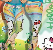 Hello Kitty  Workout Leggings! Yoga, Exercise , Spin, 100% Supplex Material.