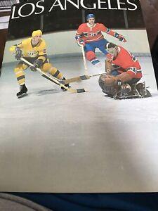 Los Angeles Kings  Program Album Hockey  1970 GREAT CONDITION Bob Pulford etc