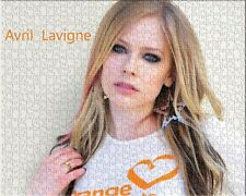 Avril Lavigne Celebrity Singer Beautiful Decoration puzzles Jigsaw Puzzle 504