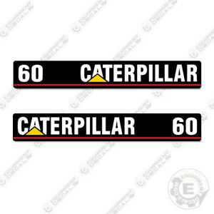 Caterpillar GC30 Forklift Decals