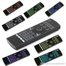 LED Backlight 2.4GHz Fly Air Mouse Keyboard Remote Control Wireless RGB 7 Colors