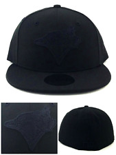 Toronto Blue Jays New Era 59Fifty Black on Black Jacquard Fitted Hat Cap 7  1  00214c346951
