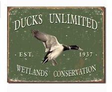 Metal Signs Home Decor hand madeair brushedmetal bearelkdeermoosehomedecorlodgeartanimalcabin metals home and signs Ducks Unlimited Metal Sign Vintage Style Rustic Hunting Cabin Home Decor