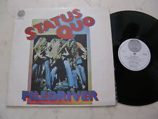 STATUS QUO Piledriver *NEW ZEALAND SWIRL VERTIGO NON - FOC 1st PRESS*1972*