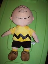 "Peanuts Charlie Brown Kohls Cares Plush Doll Collection Stuffed Toy 14"" Tall"