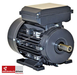 0.37 Kw Electric Motor 1400rpm 4 pole 240V Single Phase 1/2 HP Electric Motor