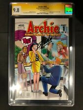 Archie #600 CGC SS 9.8 Signed by Stan Lee