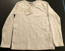 hanna andersson 120 6 7 White Pointelle Shirt