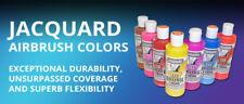 Jacquard Airbrush Paint for T-Shirt, Fabrics & Sneakers - Single 16oz Bottle