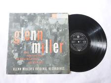 El Glenn Miller Story ~ Original Rca Reino Unido Jazz Mono Vinilo Lp ~ desempeña ordenado