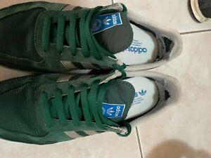 scarpe adidas la trainer colore verde misura 42 buono stato occasione