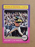 1975 Topps Reggie Jackson #461 EX- EXMT Baseball Card Oakland A's Yankees HOF