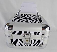 Basic Essential Oil Aromatherapy Bottle Carrying Storage Case Travel Box Zebra